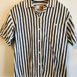 The North Face Woman's Striped Button Up